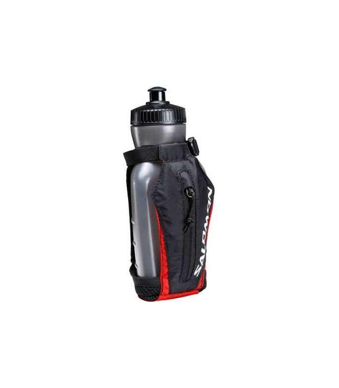 Riñoneras - Salomon Hand Bottle negro Mochilas Trail Running