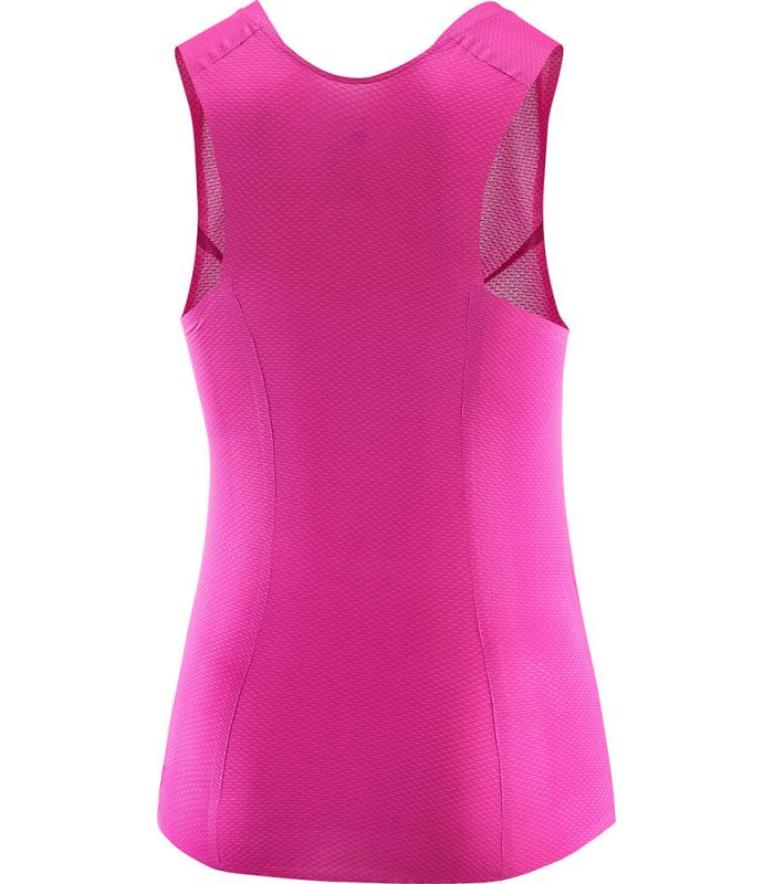 Camisetas Técnicas Trail Running - Salomon S-Lab Sense Tank W rosa Textil Trail Running