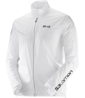 Salomon S-Lab Light JaKet Salomon Chaquetas Trail Running Textil Trail Running Tallas: l, xs, s, xl, m; Color: blanco
