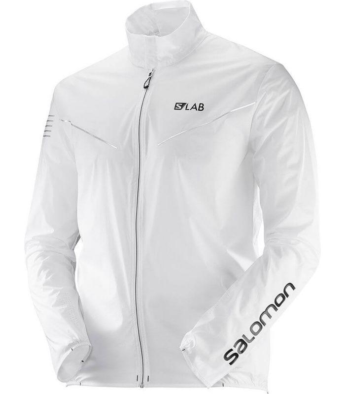 Chaquetas Trail Running - Salomon S-Lab Light JaKet blanco Textil Trail Running