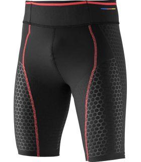Salomon S-Lab Exo Short Tigh M - Pantalones técnicos running - Salomon negro s