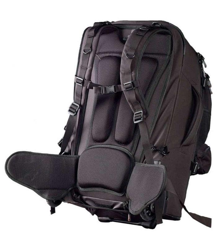 Mochilas con ruedas - Caribee Sky Master 70L negro Mochilas Montaña