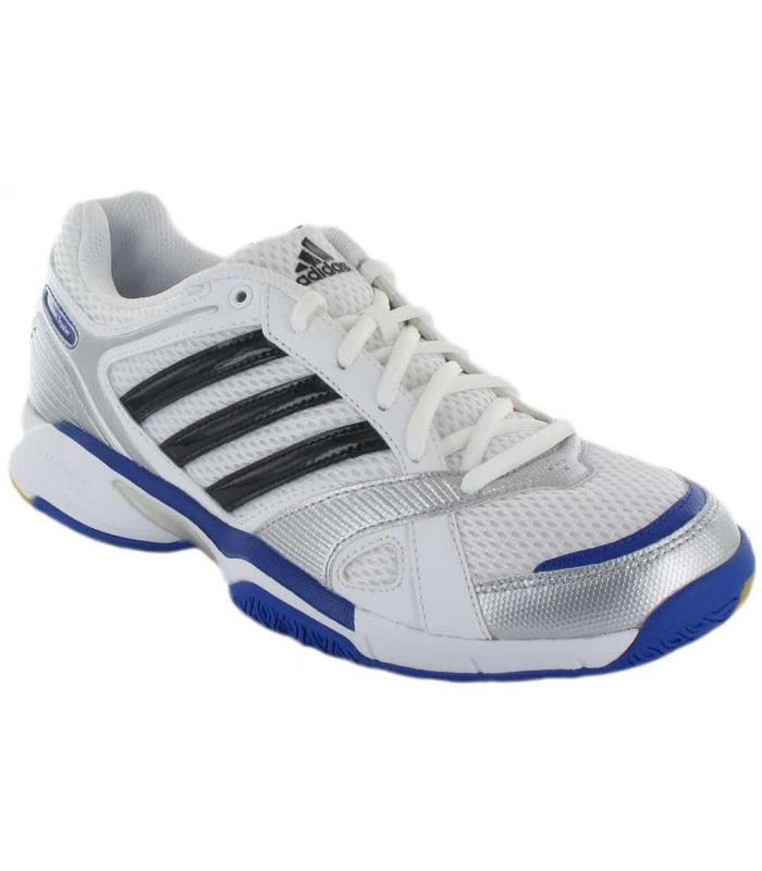 Adidas Opticourt Truster Adidas Calzado Indoor Calzado Tallas: 40 2/3, 43 1/3, 44 2/3, 46; Color: blanco