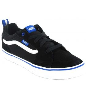 Vans Filmore Y Negro Vans Calzado Casual Junior Lifestyle Tallas: 36, 36,5, 37, 38, 38,5, 39; Color: negro