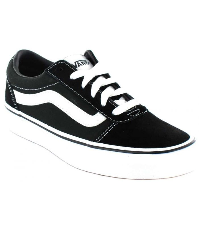 Vans Ward Black W - Casual Shoe Woman