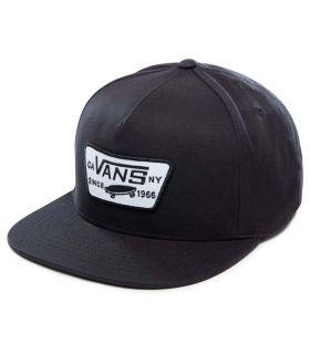 Vans Full Patch Snapback Negro Vans Gorros - Viseras Running Textil Running Color: negro