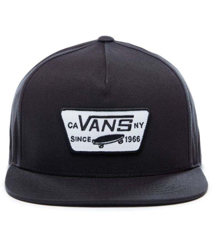 Gorros - Viseras Running - Vans Full Patch Snapback Negro negro Textil Running