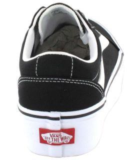 Calzado Casual Mujer - Vans Ward Plataforma negro Lifestyle