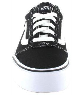 Vans Ward Plataforma Vans Calzado Casual Mujer Lifestyle Tallas: 37, 35, 36, 38, 39, 40, 41; Color: negro