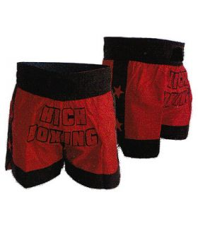 Pantalones Boxeo - Thai - Fullcontact - Pantalon Kick Boxing rojo Boxeo