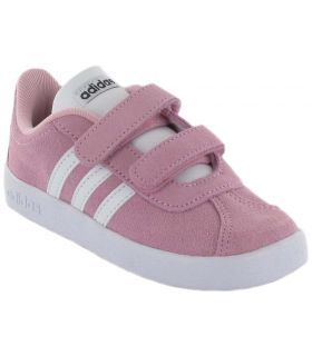 Adidas VL Court 2.0 CMF Rosa Calzado Casual Baby Lifestyle