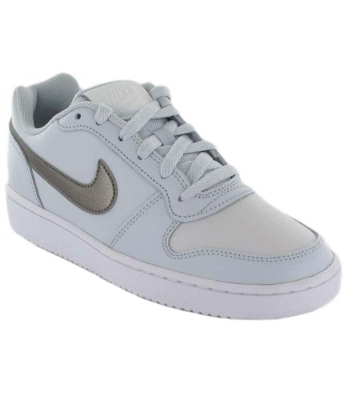Calzado Casual Mujer - Nike Ebernon Low W Gris gris Lifestyle