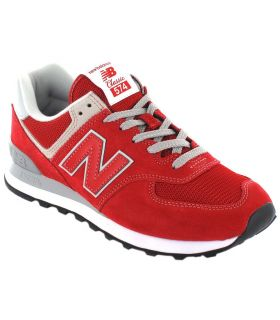 New Balance ML574ERD - Calzado Casual Hombre - New Balance rojo 41,5, 44,5