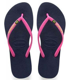 Havaianas Slim Brasil Logo Azul Nº1 en Zapatillas Chanclas -