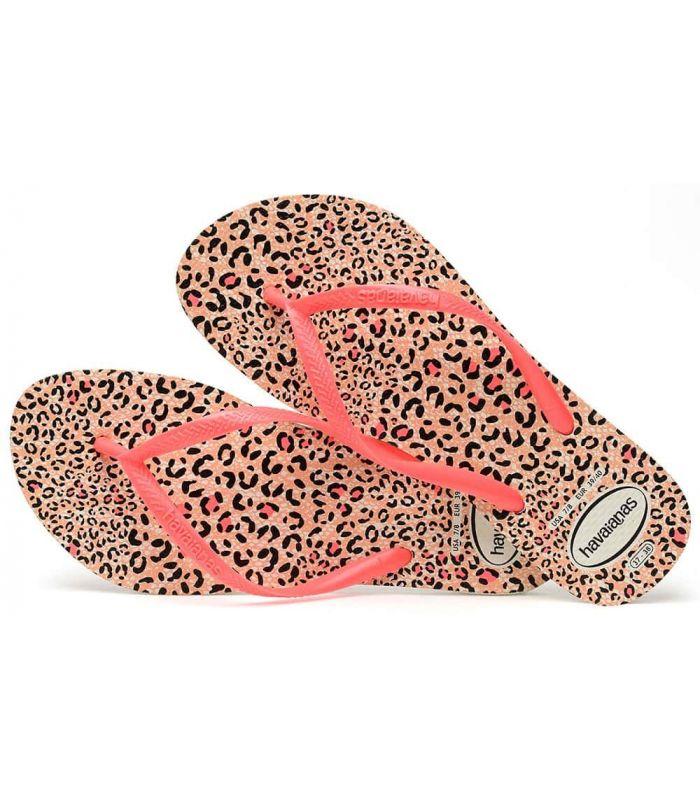Havaianas Slim Animals Pink