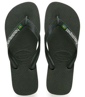 Havaianas Brasil Logo Green