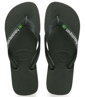 Havaianas Brasil Logo Verde