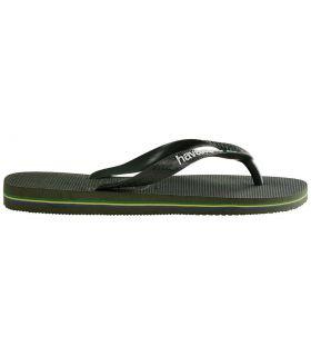 Havaianas Brasil Logo Green - Shop Sandals / Flip-Flops Man