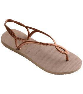 Havaianas Luna-Beige - Shop Sandals / Flip Flops Women