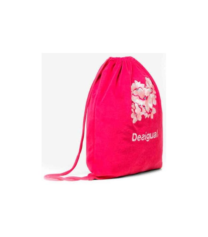 Unequal Camo Flower Gymsac - Backpacks-Bags