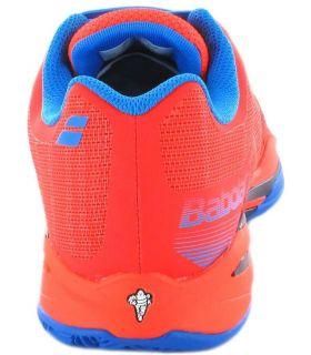 Calzado Padel - Babolat JET Team Clay Rojo rojo Padel
