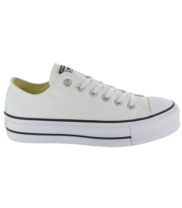 Converse Chuck Taylor All Star Lift White - Casual Shoe Woman