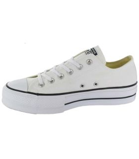 Calzado Casual Mujer - Converse Chuck Taylor All Star Lift Blanco blanco Lifestyle