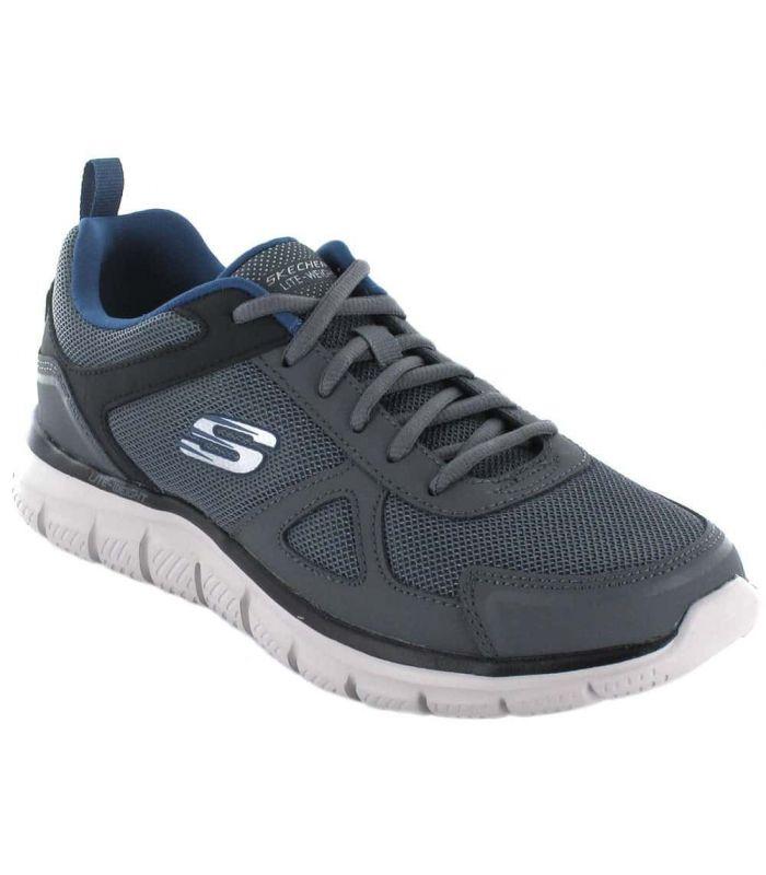 Calzado Casual Hombre - Skechers Scloric Gris gris Lifestyle