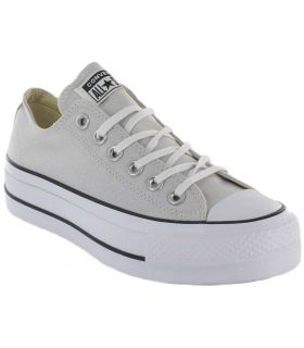 Converse Chuck Taylor All Star De Levage-Gris Clair