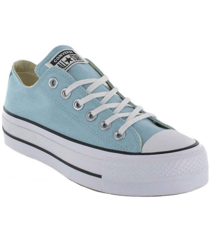 566b1a0b07 Converse Chuck Taylor All Star Lift Turquesa - Calzado Casual Mujer - Converse  azul claro