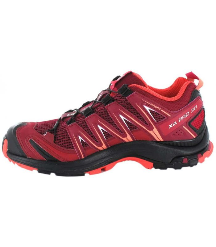 Salomon XA Pro 3D W Granate Salomon Zapatillas Trail Running Hombre Zapatillas Trail Running Tallas: 37 1/3, 38, 38