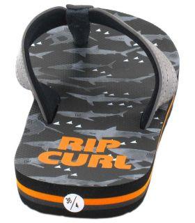 Rip Curl Ripper Kids Tiburon Rip Curl Tienda Sandalias / Chancletas Junior Sandalias / Chancletas Tallas: 34, 35, 36