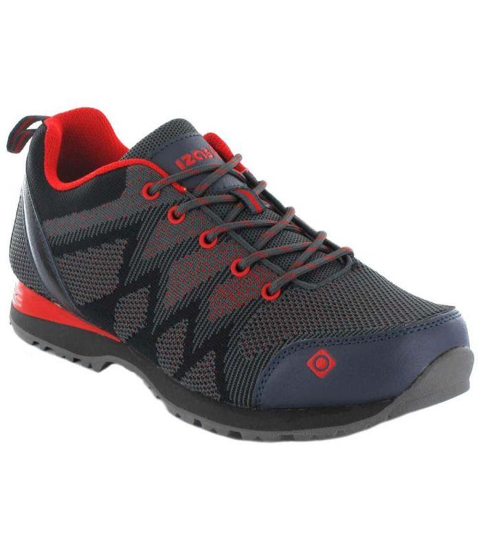 Izas Hailey Izas Zapatillas Trekking Hombre Calzado Montaña Tallas: 41, 42, 43, 44, 45, 46; Color: gris