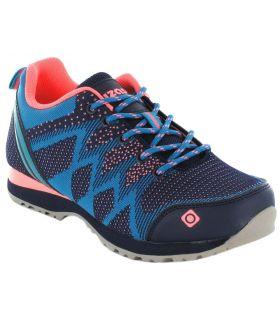 Izas Hailey W Izas Zapatillas Trekking Mujer Calzado Montaña Tallas: 38, 39, 40, 41; Color: azul