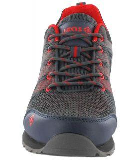 Zapatillas Trekking Hombre - Izas Hailey gris Calzado Montaña