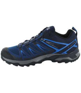 Salomon X Ultra 3 Azul Salomon Zapatillas Trekking Hombre Calzado Montaña Tallas: 44 2/3, 46 2/3; Color: azul