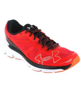 Under Armour Charged Bandit Rojo - Zapatillas Running Hombre - Under Armour rojo 40,5, 42
