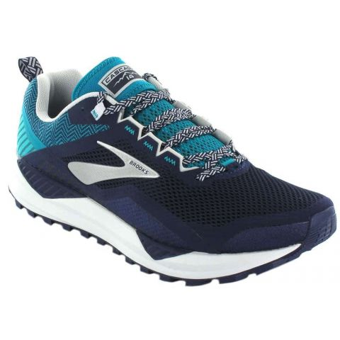 Brooks Cascadia 14 Azul - Zapatillas Trail Running Hombre - Brooks azul marino 42,5, 43