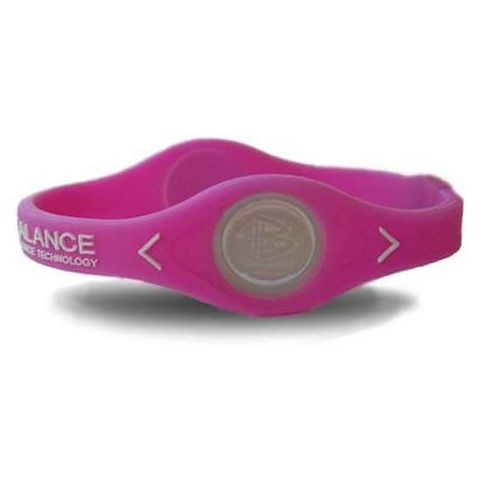 Power Balance Bracelet silicone Pink - Templates and accessories