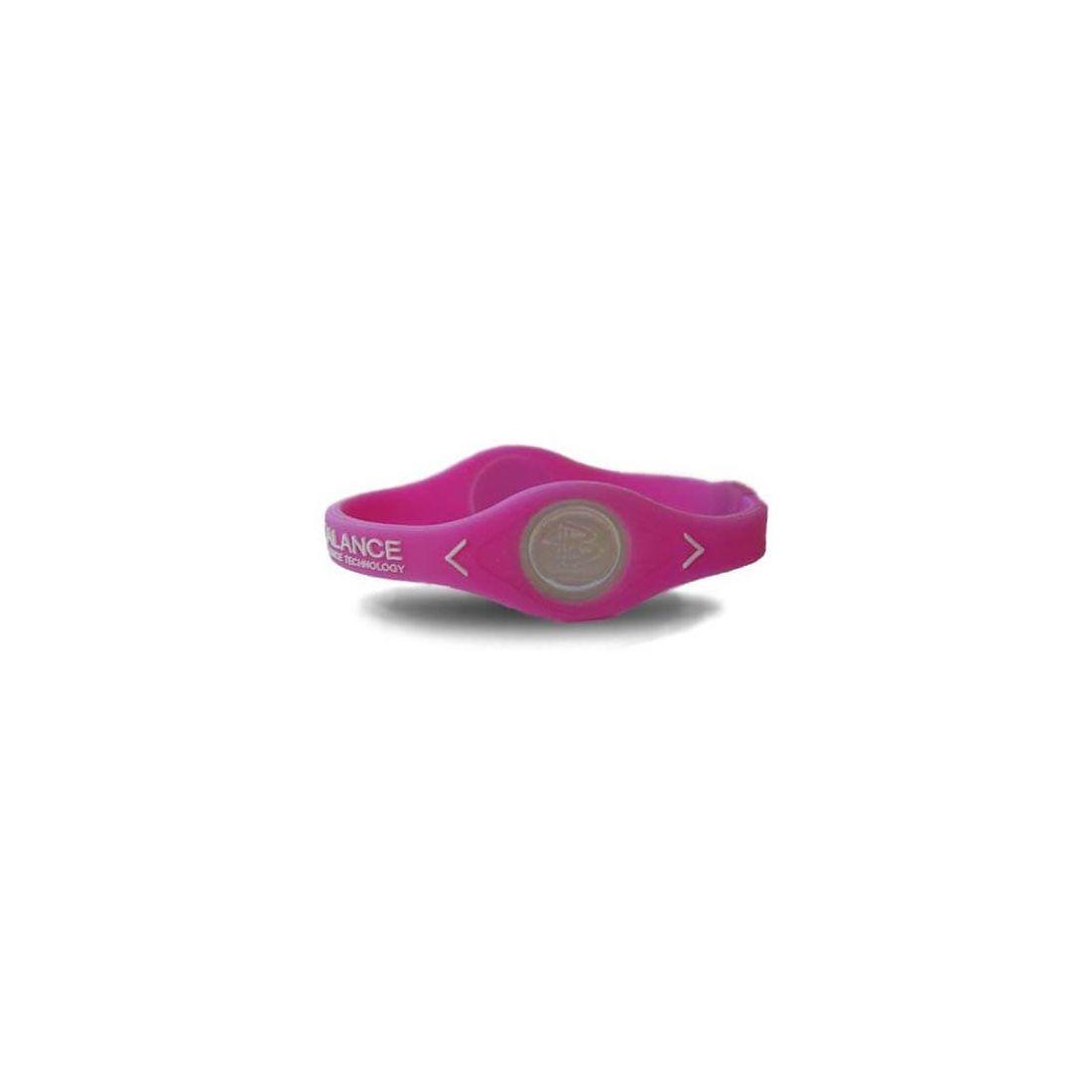 Power Balance Pulsera silicona Rosa - Plantillas y accesorios - Power Balance rosa xs, s