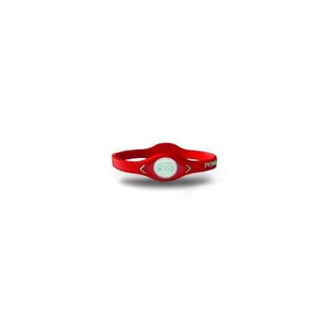 De puissance de Bracelet d'Équilibre de silicone Rouge -
