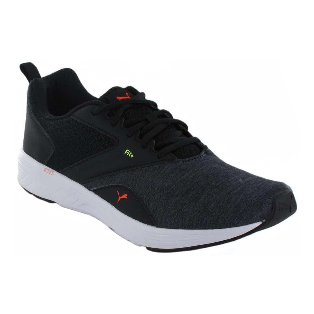 Puma NRGY Comet Black - Mens Running Shoes