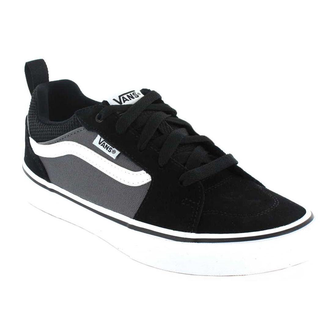 Vans Filmore Y Negro Gris - Calzado Casual Junior