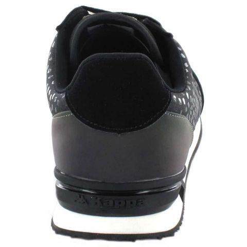 Kappa Mohan Negro Kappa Calzado Casual Mujer Lifestyle Tallas: 36, 37, 38, 39, 40, 41; Color: negro