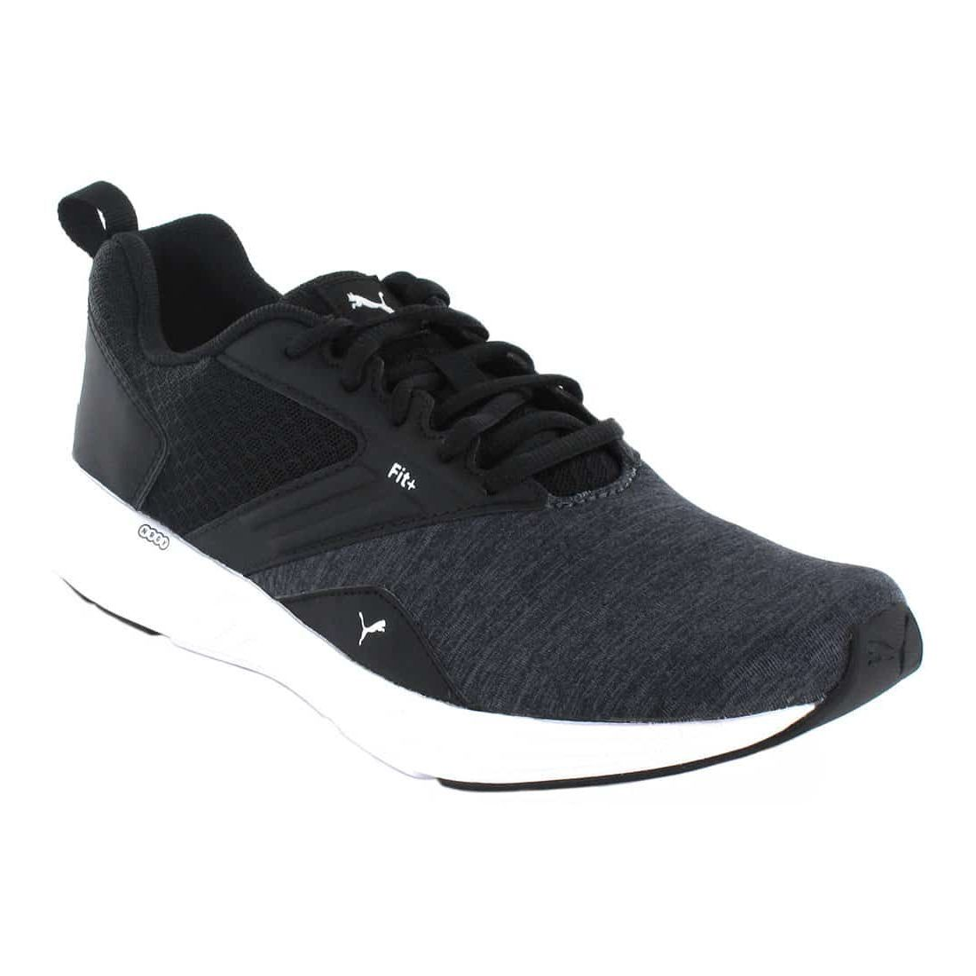 Puma NRGY Comet Black White - Running Man Sneakers
