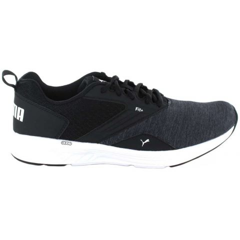 Puma NRGY Comet Black White - Mens Running Shoes