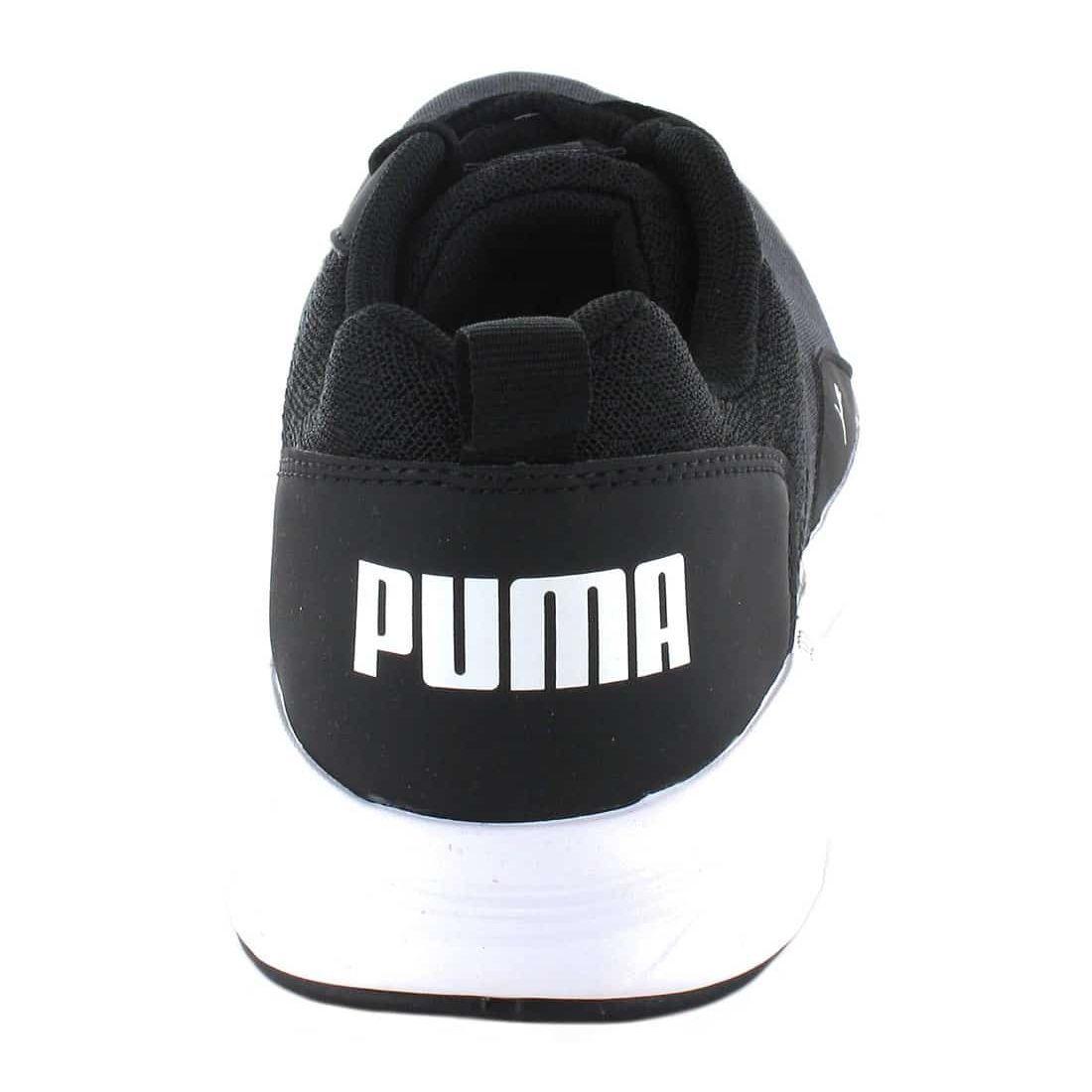 Puma NRGY Comet Black White