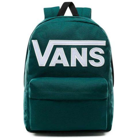 Vans Mochila Old Skool III Verde Vans Mochilas - Bolsas Running Color: verde