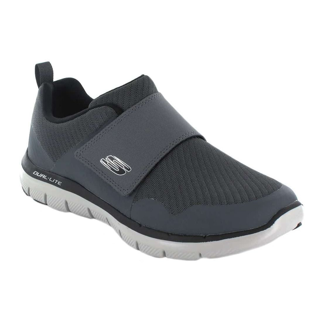 Skechers Gurn Gris Skechers Chaussures Casual Homme Lifestyle Tailles: 40, 41, 42, 43; Couleur: gris