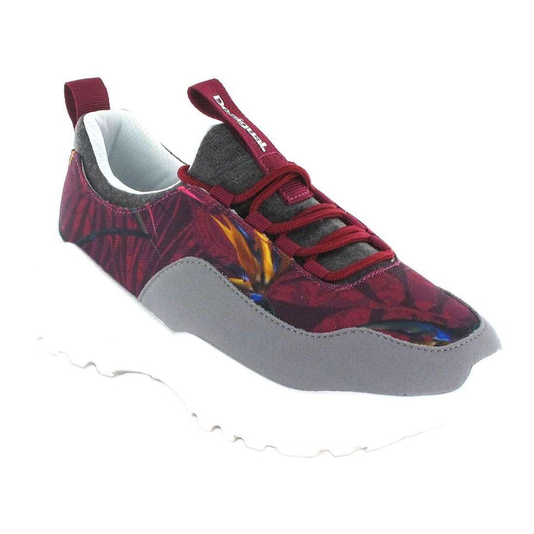 Uneven Chunky Garnet - Casual Shoe Woman